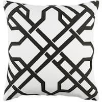 Decorative 18-inch Balmy Throw Pillow Shell