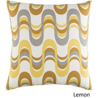 Decorative 18-inch Coast Feather Down or Polyeste Filled Throw Pillow