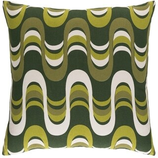 Decorative 18-inch Coast Down or Polyeste Filled Throw Pillow