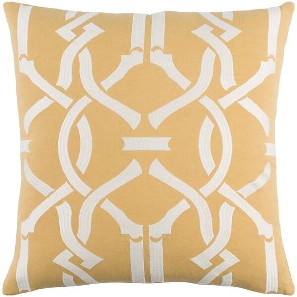 Decorative 18-inch Basin Throw Pillow Shell