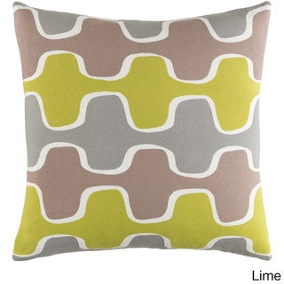 Decorative 18-inch Canal Throw Pillow Shell
