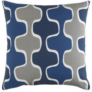 Carson Carrington Verdalsora Decorative 18-inch Canal Throw Pillow Shell