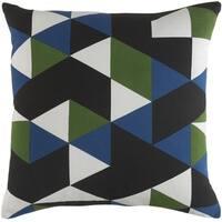 Decorative 18-inch Creek Throw Pillow Shell