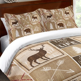 Laural Home Rustic Cabin Standard Pillow Sham