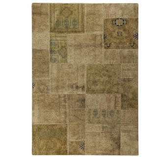 "M.A.Trading Hand Knotted Renaissance Sand (5'2""x7'6"")"