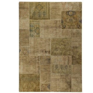 M.A.Trading Hand-Knotted Indo Renaissance Sand Rug (6'6 x 9'6)