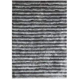 Nourison Urban Safari Chinchilla Shag Area Rug (5'6 x 7'5)