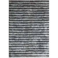 Nourison Urban Safari Chinchilla Shag Area Rug (5'6 x 7'5) - 5'6 x 7'5