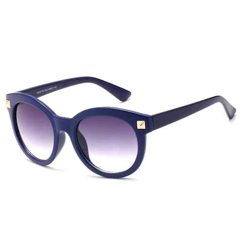 Dasein Women's Fashion Polarized Sunglasses Eyewear with Studs Accent