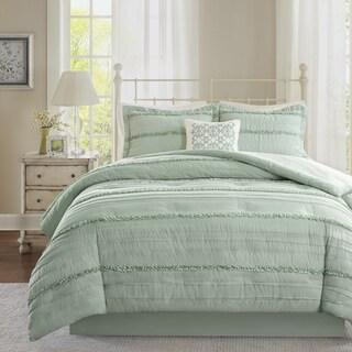 Madison Park Isabella Green Comforter Set