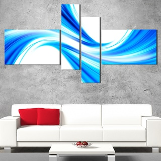 DesignArt 'Tidal Wave at Night' Modern Wall Art