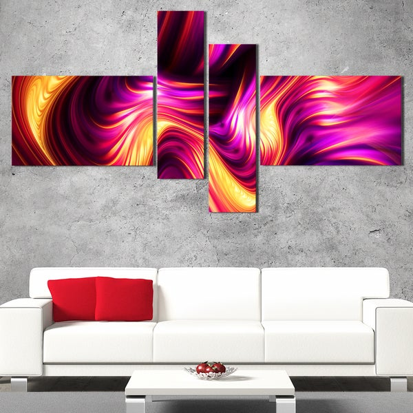 DesignArt 'Bursts of Light' Modern Wall Art