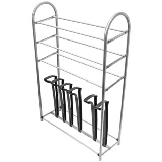 Sorbus Three Level Shoe and Boot Rack Organizer