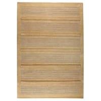 Handmade M.A.Trading Indo Boston Beige Rug (5'6 x 7'10) (India)