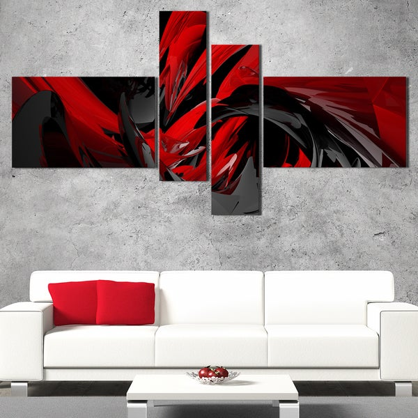 DesignArt 'What do you see?' Abstract Wall Art