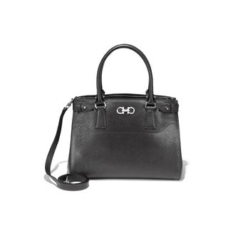 Salvatore Ferragamo 21D940 Medium Double Gancio Tote