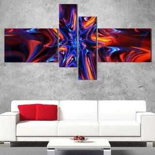 DesignArt 'Kaleidoscope' Large Abstract Wall Art