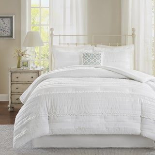Madison Park Isabella White Comforter Set
