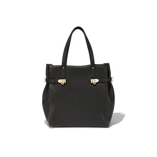 Salvatore Ferragamo 21F018 North/South Gancini Tote