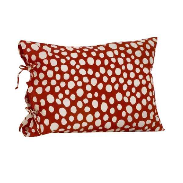 Lizzie Plain Pillowcase with Ties