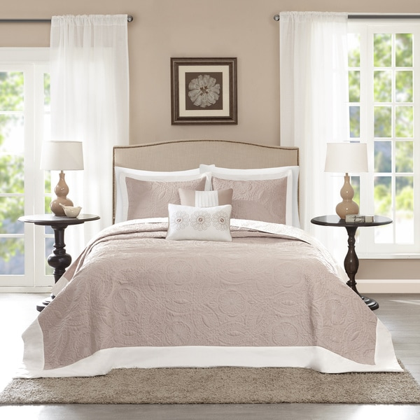 Madison Park Stanton Reversible Bedspread Set