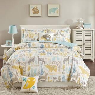 INK+IVY Kids Woodland Aqua Cotton Comforter Set|https://ak1.ostkcdn.com/images/products/11584449/P18525149.jpg?impolicy=medium