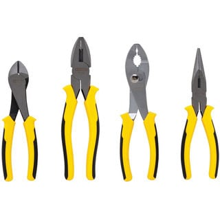 Stanley 84-058 4 Piece Plier Set