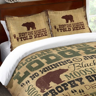 Laural Home Lodge Words Standard Pillow Sham