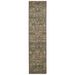 Nourison Silken Allure Slate Area Rug (2'5 x 10')