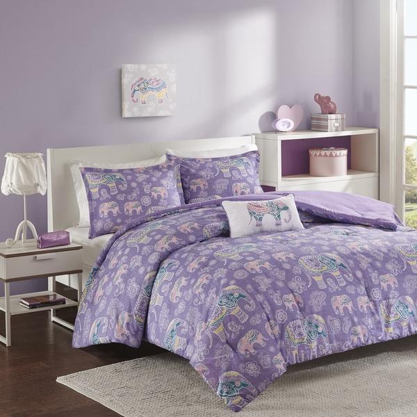 mi zone abby purple comforter set free shipping today