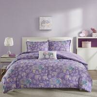 Mi Zone Abby Purple Comforter Set