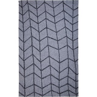 M.A.Trading Hand-Tufted Chinese Shadow Light Grey Rug (2 x 3')