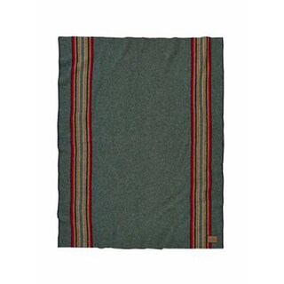 Pendleton Green Heather Yakima Camp Wool Blanket (2 options available)