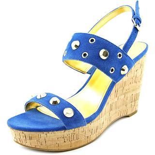 Ivanka Trump Women's 'Gitty' Regular Suede Wedges Shoes