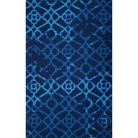 M.A.Trading Hand-Tufted Chinese Heritage Blue Rug - 2' x 3'