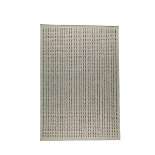 M.A.Trading Hand-woven Indo Palmdale Beige Rug (4'6 x 6'6)