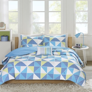 Mi Zone Jackie Blue Coverlet Set