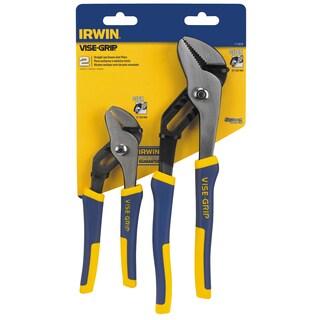 Irwin 1773639 2 Piece Groove Joint Pliers Set
