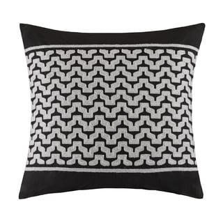 INK+IVY Cheyenne Embroidered 20x20 Cotton Decorative Pillow