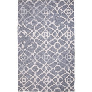M.A.Trading Hand-Tufted Chinese Heritage Grey Rug (5 x 8')