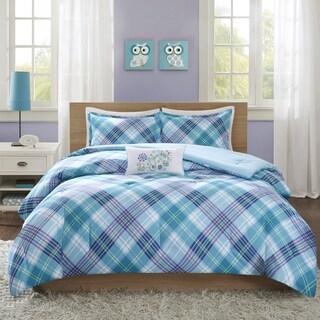 Mi Zone Blythe Teal Comforter Set