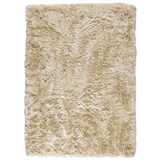 M.A.Trading Hand-woven Indo Dubai Vanilla Rug (4'6 x 6'6)
