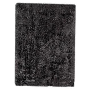Hand-woven Indo Dubai Charcoal Rug (3' x 5'4)