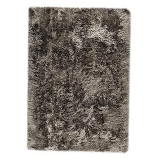 M.A.Trading Hand-woven Indo Dubai Silver Rug (4'6 x 6'6)