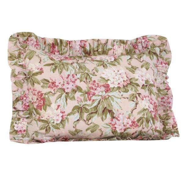 Ruffled Pillow Sham Pattern Free: Tea Party Ruffled Pillow Sham   Free Shipping On Orders Over $45    ,