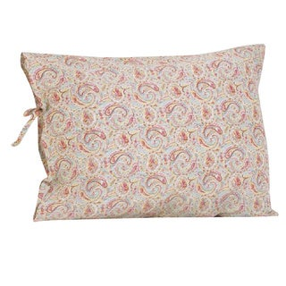 Tea Party Plain Pillowcase with Ties