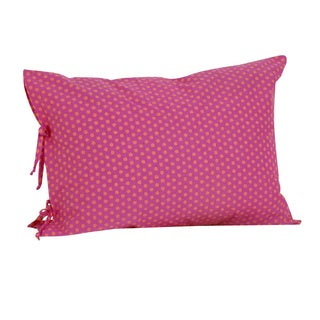 Tula Plain Pillowcase with Ties