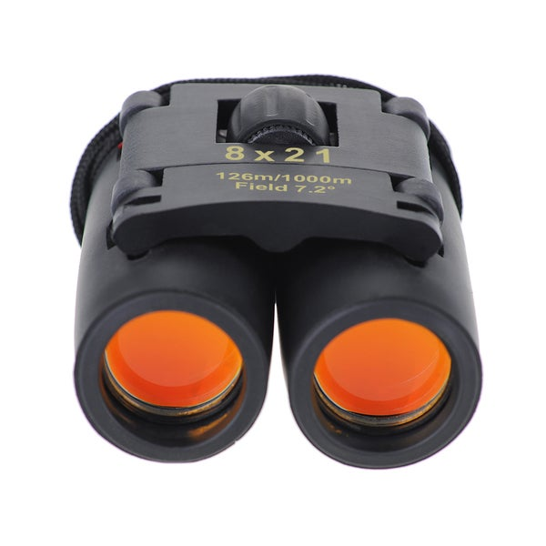8 x 21 Optics Binoculars Telescope with Clean Cloth and Carry Case