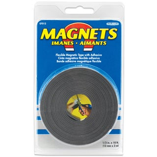 """Master Magnetics 07012 1/2"""" X 10' Large Magnetic Tape Roll"""