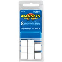 "Master Magnetics 07018 8-count 1/2"" X 3/16"" High Energy Flexible Magnets"